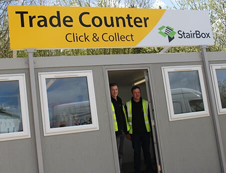 StairBox Trade Counter